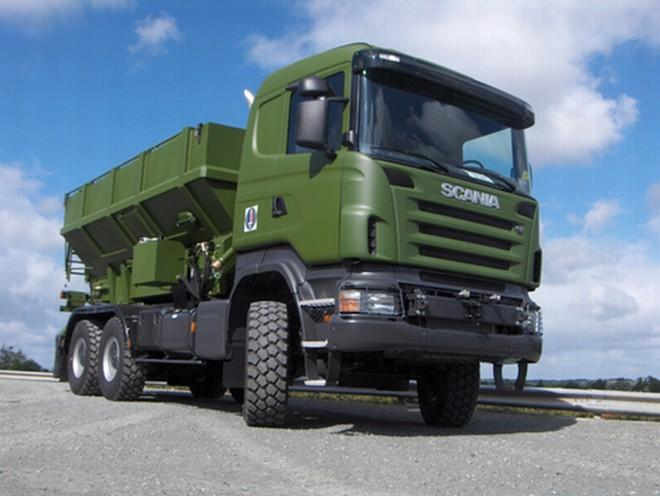 2006 Scania Army Truck Picture