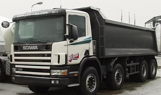 2007 Scania P114 Truck Picture