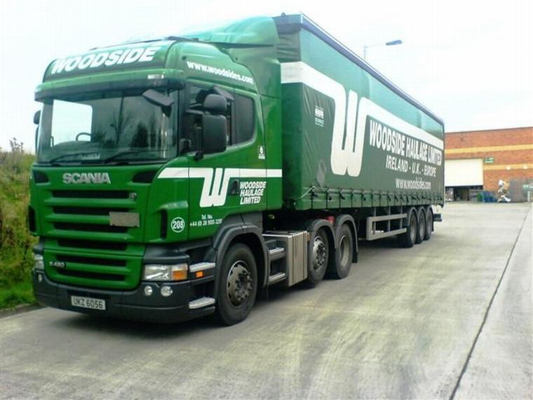 Front left green 2007 Scania R480 Truck Picture