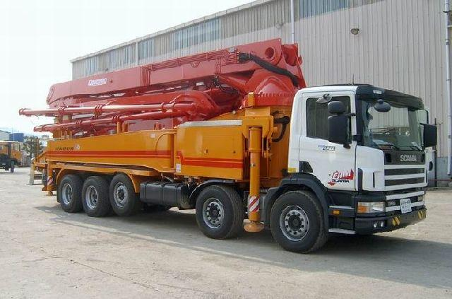 Scania 48M Concrete Pumper Truck Picture
