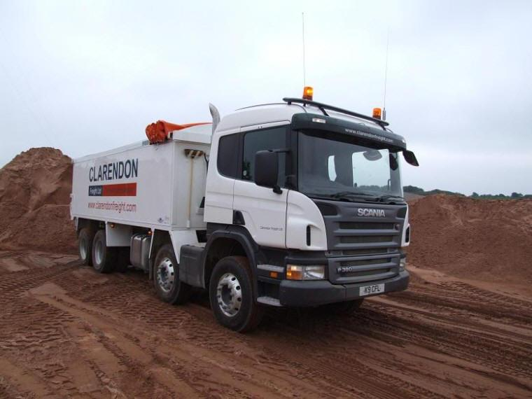 Claredon Freight Ltd. Scania P380 Truck Picture
