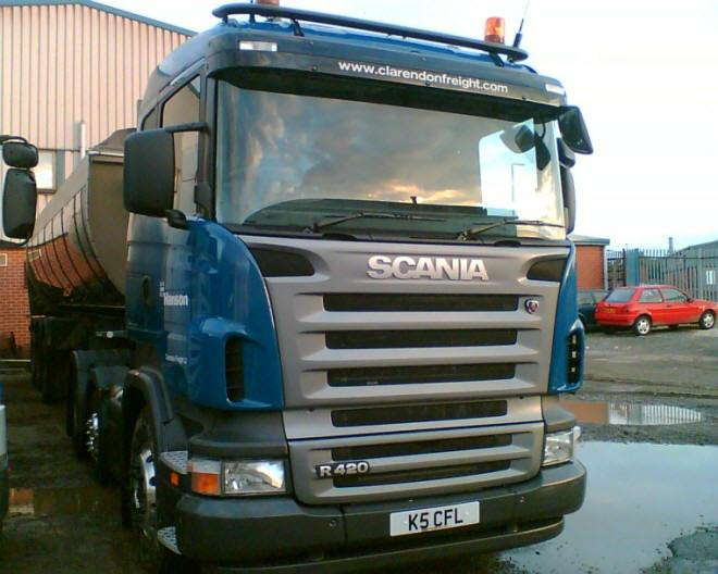 Claredon Freight Ltd. Scania R420 Truck Picture