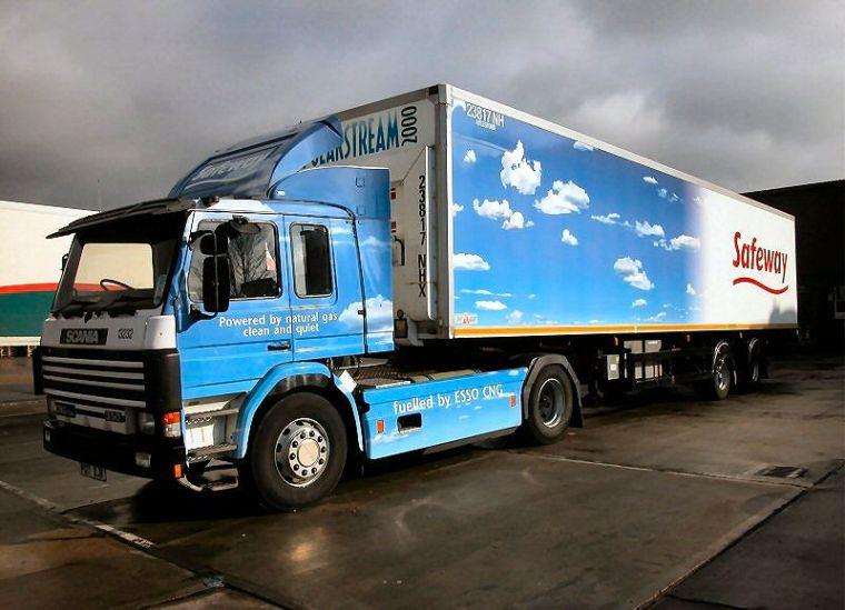 Scania Natural Gas Truck Picture
