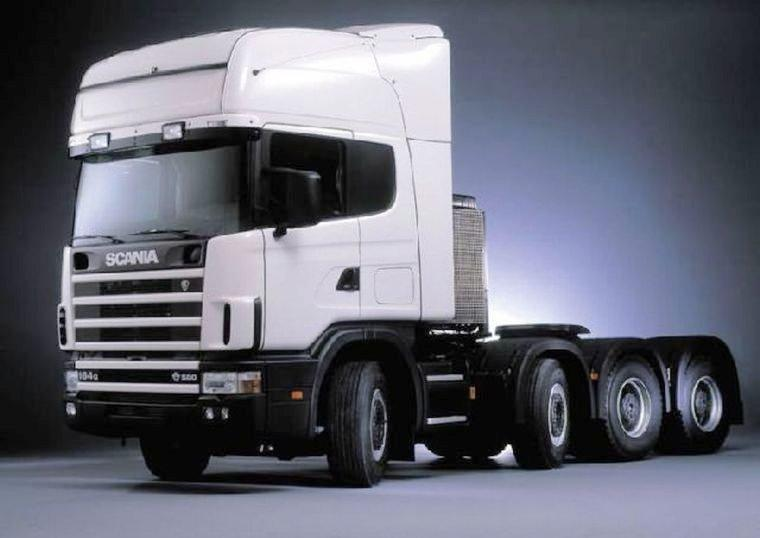 Scania 154P Truck Picture