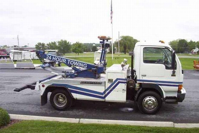 1997 UD 1400 Tow Truck Picture