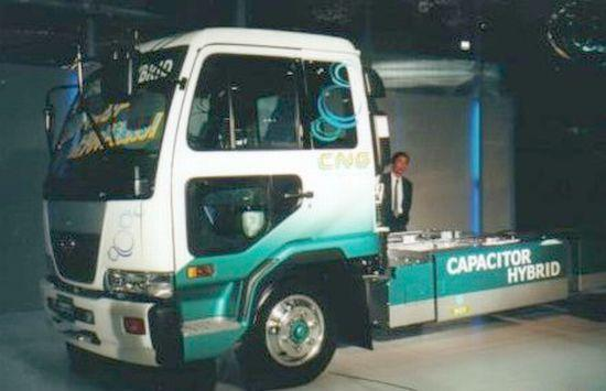 UD Capacitor Hybrid Truck Picture