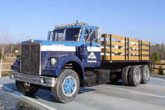 Western Star Stake Truck Picture