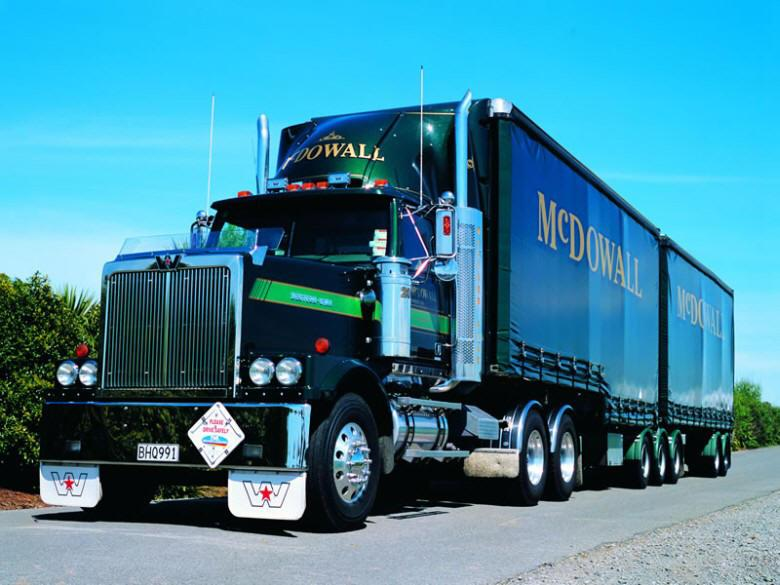 Front Left McDowalls 2007 Western Star Truck Picture