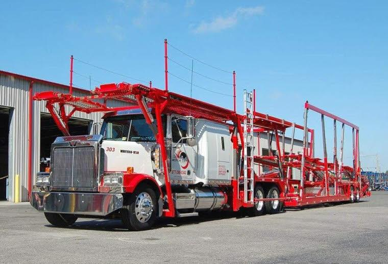 Front Left 2007 Western Star 4900 Lowmax Truck Picture