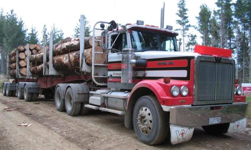Western Star Logging Unit Truck Picture